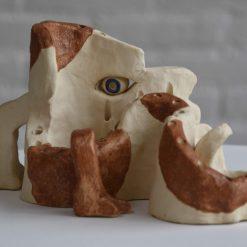 Standaard Wim Rutte outsiderart galerie Vialumina Dordrecht