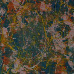 Touwschildering Wim Rutte outsiderart galerie Vialumina Dordrecht