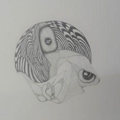 Grafiet tekening