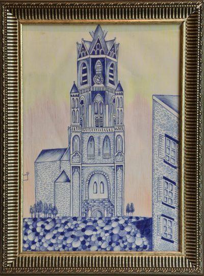 Jonathan Wesseling outsider art Vialumina Dordrecht