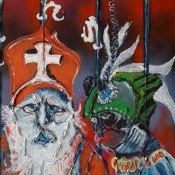 Sint & Piet outsiderart galerie Vialumina Dordrecht