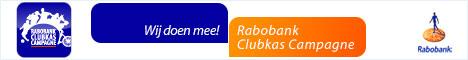 Wij doen mee  met de Grote Clubactie van de Rabobank