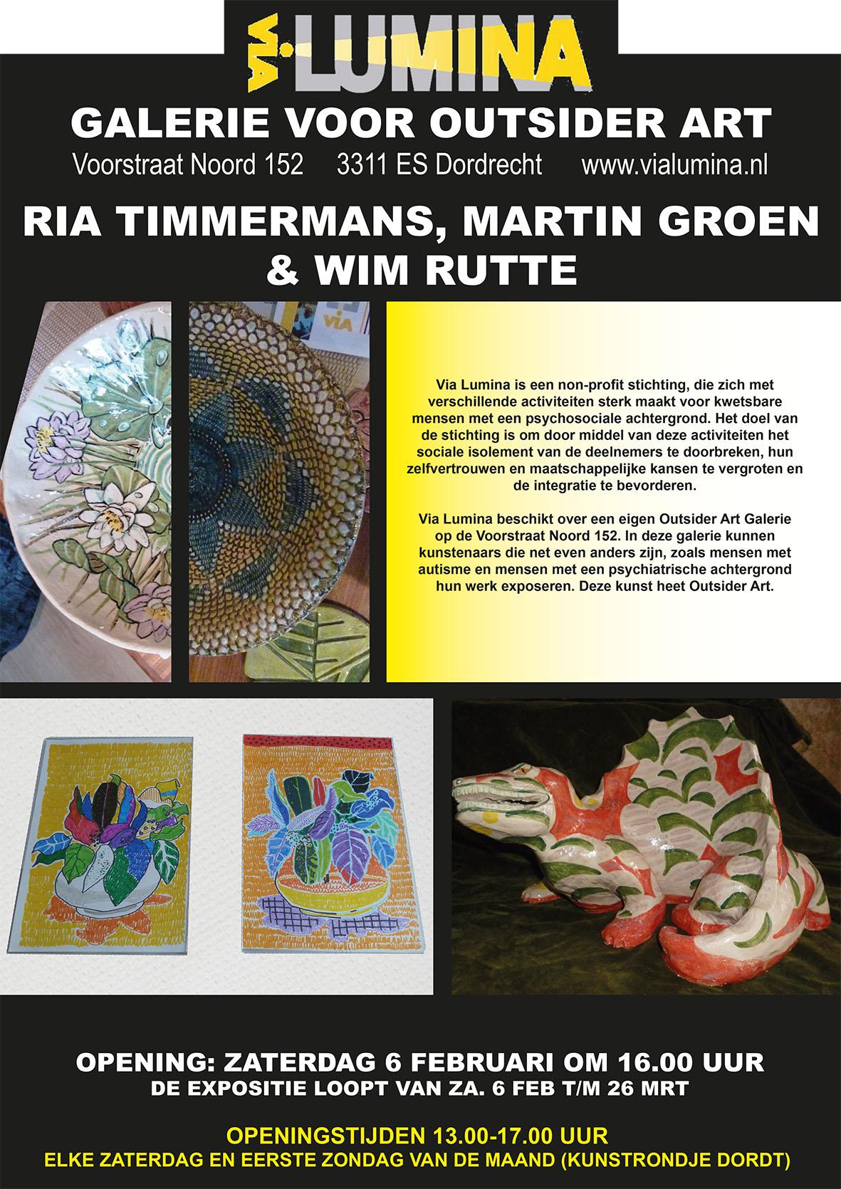 Martin, Ria en Wim